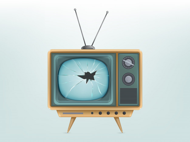 ilustracja-zepsuty-retro-telewizor-telewizja-ranny-vintage-elektroniczny-wyswietlacz-wideo_1441-1700