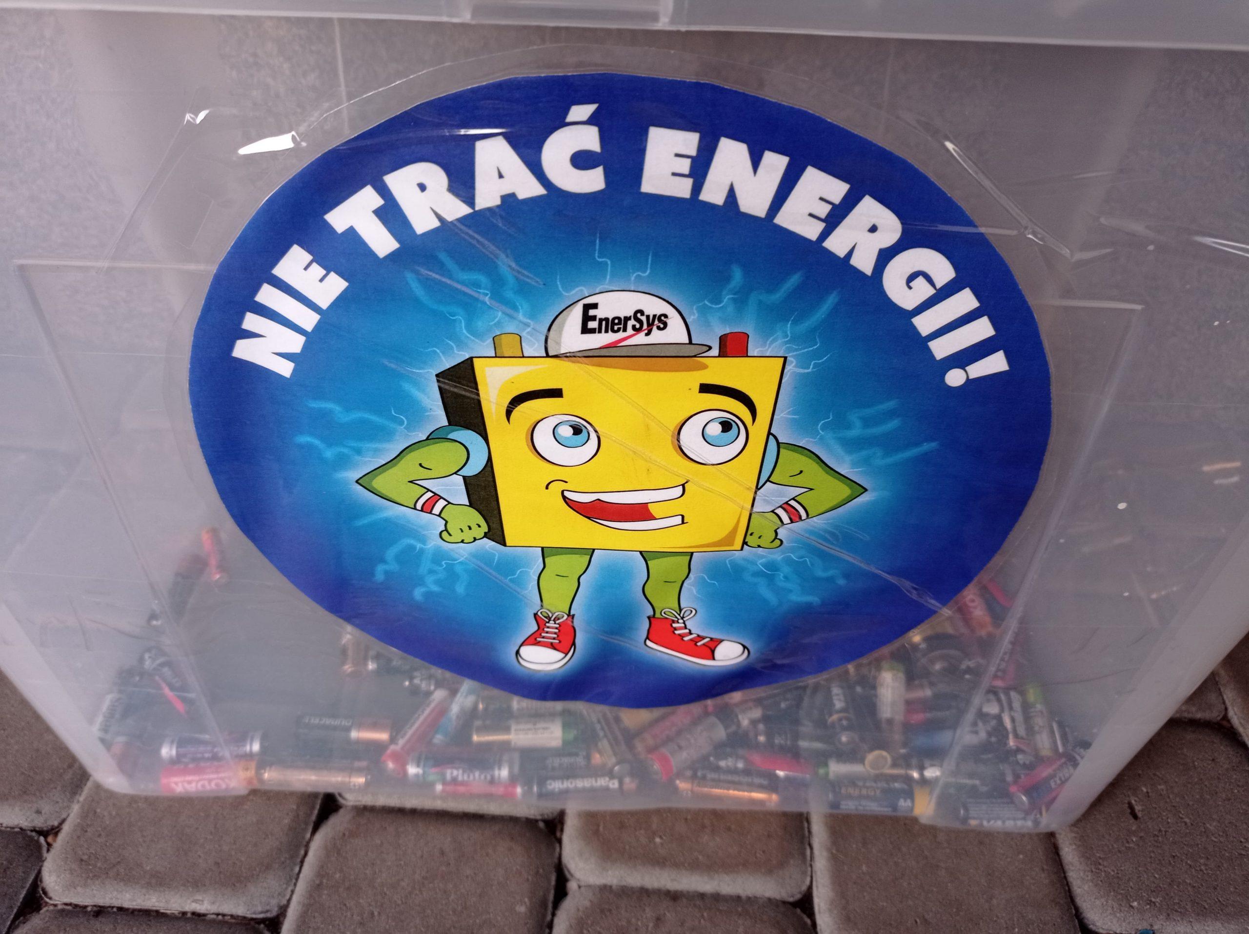 NIE TRAĆ ENERGII!